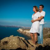 Photoshooting at Santorini's Hotospots - Jason + Lisa-2
