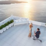 41 Wedding Proposal Dana Villas Santorini