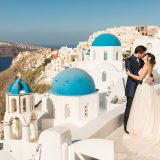 14 Santorini Blue Domes Photography