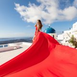 2 Santorini Dress Fashion Style Photography