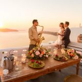 40 Santorini Wedding Proposal in Sophia Luxury Suites