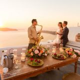 51 Santorini Wedding Proposal in Sophia Luxury Suites