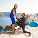 54 Wedding Proposal In Oia Santorini