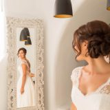 66 Santorini Wedding in Dana Villas Hotel Bride Preparation